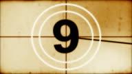 Countdown leader video