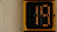 Countdown numeric. video
