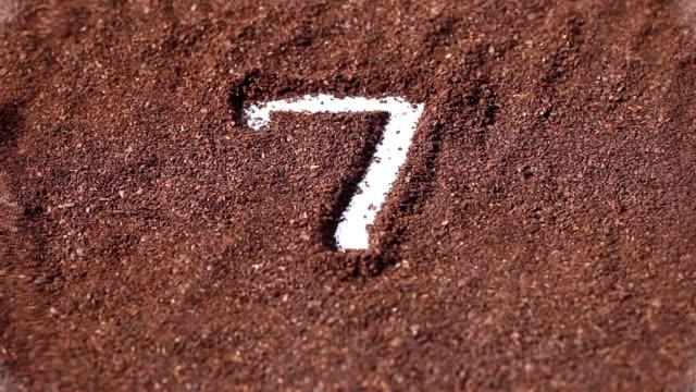 countdown on chocolate powder video