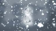 Countdown Snow video
