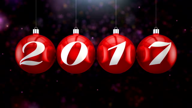 Countdown to New Year, 2017 video