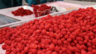 Countertop Store with Raspberries video