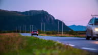 Country Road in Norway video