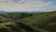 Country Road through Sheep Farms video