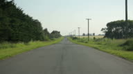 Countryside road video