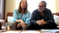 Couple argue about medical bills video