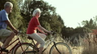 Couple bike ride together video