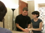 Couple brusing teeth before bed video