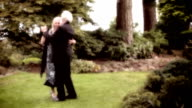 Couple dancing in celebration video