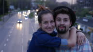 Couple happiness video