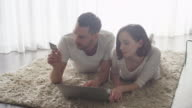 Couple Have Having Moments of Tenderness in Bright White Room. video