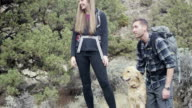 Couple Hiking Together video