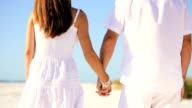 Couple Holding Hands in Close-up video