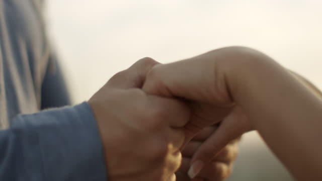 Couple Holding Hands video