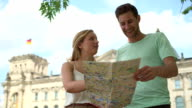 Couple holding map video