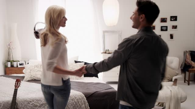 Couple in bedroom video
