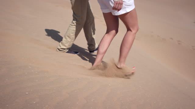 Couple in desert video