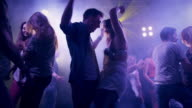 Couple in disco video