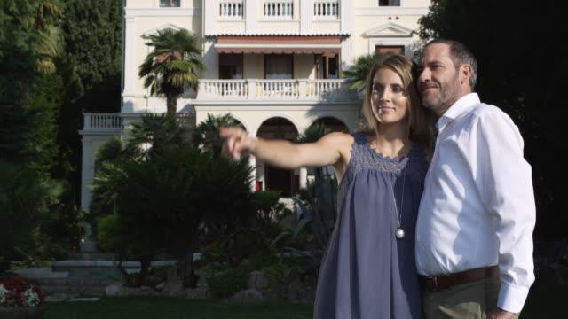 Couple in Garden video