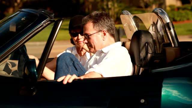 Couple in Sports Car video