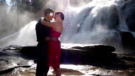 Couple In Sweet Kiss video