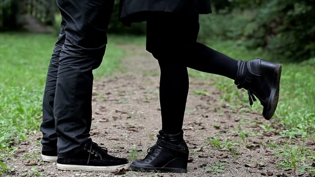 Couple in the park video