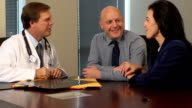Couple Meet with Doctor to Discuss Radiology Results video