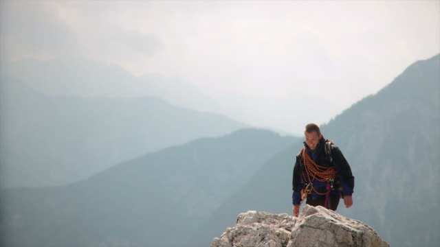 HD: Couple Mountain Climbing video
