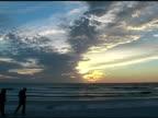 Couple on Beach 3 NTSC video
