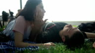 HD: Couple on Park video