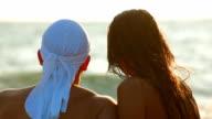 Couple On The Beach video