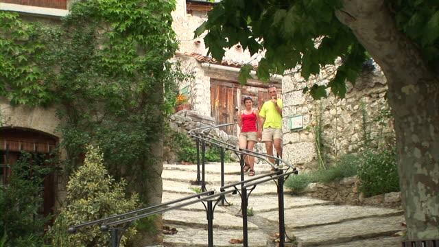 HD: Couple Sightseeing video
