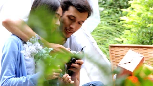 Couple Taking Selfie photo.Hd format video