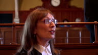 4K: Court - Female Lawyer questioning Witness video