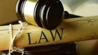 Court law legal system and justice concept judgement guilty or innocence video