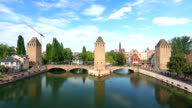 Covered Bridges (Ponts Couverts ) in Strasbourg video
