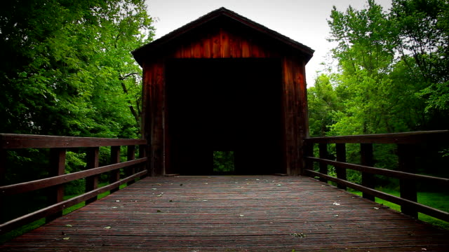 Covered Front Bridge video