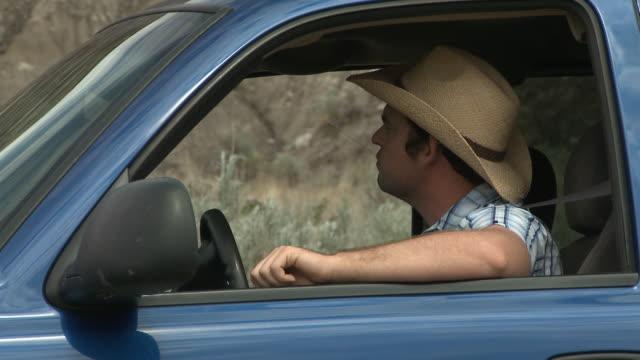 Cowboy picks up businessman hitch hiker video
