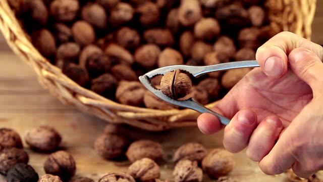Cracking Walnuts video