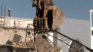 Crane Moving Rubble 1 video