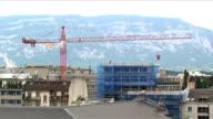 Crane time lapse video