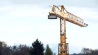 Crane tower video
