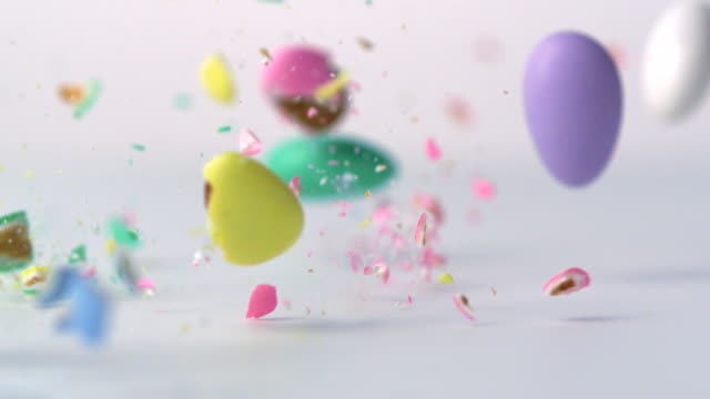 Crashed candy, Slow Motion video