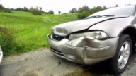 MS Crashed Cars After The Accident video