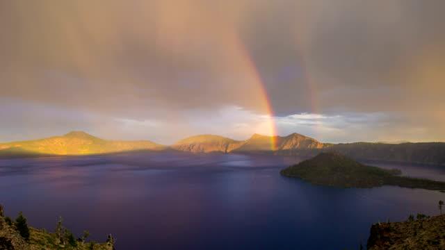 Crater Lake Rainbow Oregon video