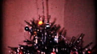 Crazy Christmas Dolls Under The Tree-1964 Vintage 8mm film video