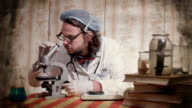 Crazy scientist video