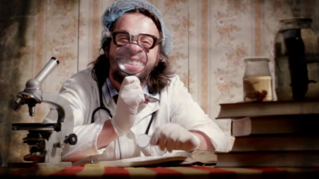 Crazy scientist video
