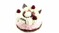 Cream cake video