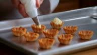 HD Cream Filled Dessert Cups video